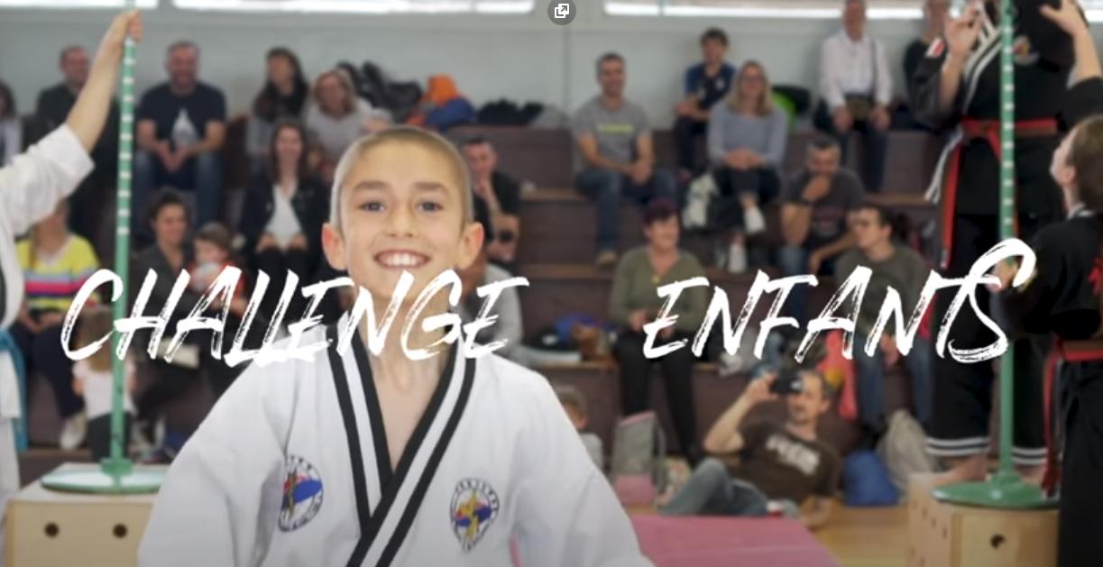 Challenge enfants Hapkido JJK 2019