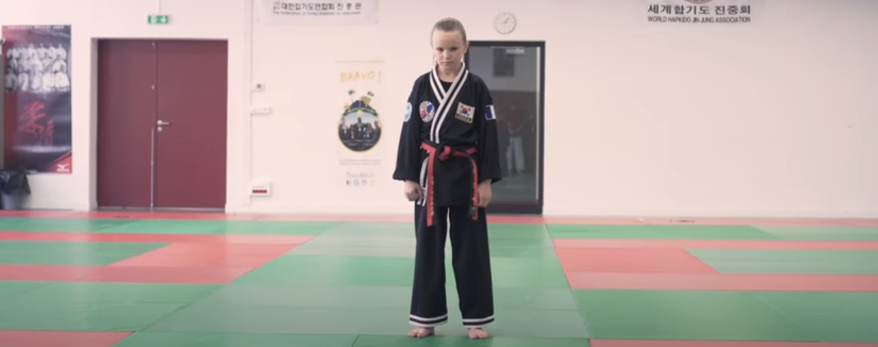 What a child can do with Hapkido